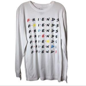 Friends Graphic Long Sleeve Shirt